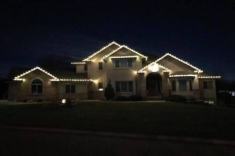 Holiday Lighting in Northwest Iowa