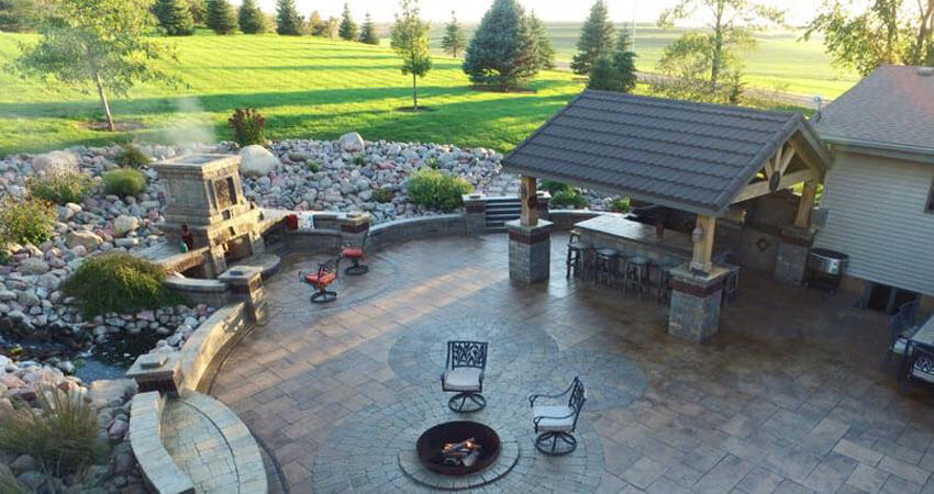 Landscape Design in Northwest Iowa