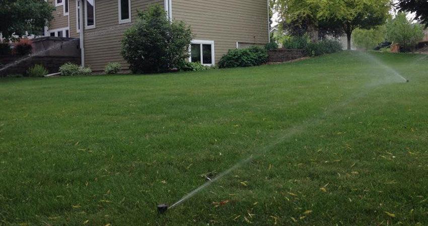 Lawn Irrigation in Northwest Iowa