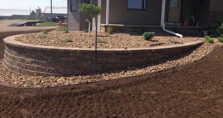 Retaining Walls in Northwest Iowa