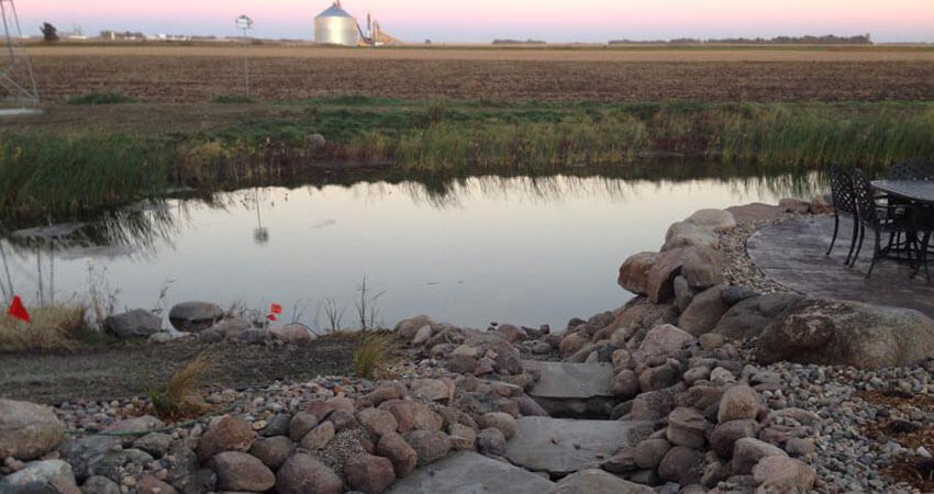 Water Features in Northwest Iowa