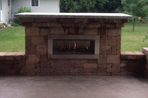 Outdoor Fireplaces in Northwest Iowa