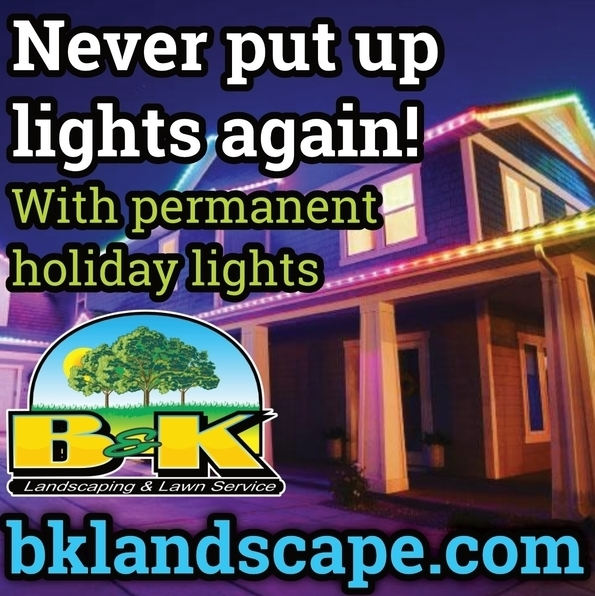 Permanent Holiday Lighting in Northwest Iowa