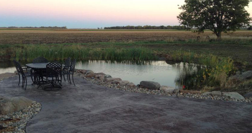 Water Features in Rock Valley, Iowa